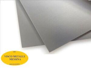 Lastra Lamiera Lamina Alluminio lega 99,5 per stampaggio fresa pressa mm 0,8
