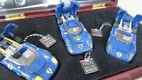 GMP Sunoco T 70 Lola Chevy 3 race car set Penske Racing Donohue gift box 1:43