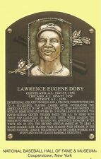 Postcard Larry Doby Cleveland Indians HOF Hall of Fame Cooperstown MINT
