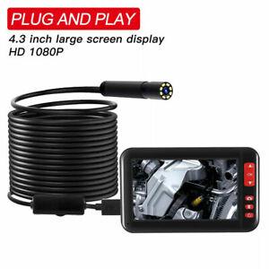 "4.3"" LCD Screen HD 1080P F200 Car Monitor Borescopes Inspection Endoscope Camera"