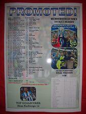 Huddersfield Town promoted to Premier League - 2017 - souvenir print