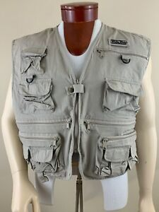 WHITE RIVER Fly Shop Men's Zip Multi-Pocket Fishing Vest Size 2XL