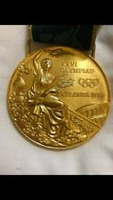 New listing Medal gold olympic games Atlanta 1996 volleyball authentic player
