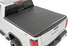 Rough Country Soft Tri-Fold fits 2019-2021 Chevy Silverado GMC Sierra 5.8 FT Bed