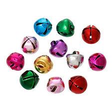Lot 20 Pieces Cloche 8mm x 8mm grelots Metal Mixte, Clochette, Jingle Bell