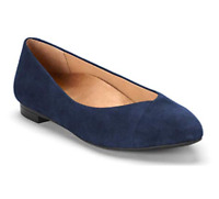 Vionic Women's 359CABALLO Shoes Navy Choose Size Free Shipping NIB