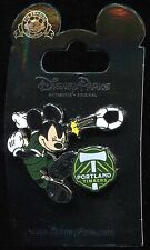 Mickey Mouse as Soccer Football Player for Portland Timbers Disney Pin