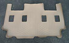 WeatherTech 451075 Reman Floor Liner Mat - 3rd Third Row Tan New in Box!