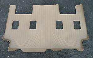 WeatherTech 451075 Floor Liner Mat - 3rd Third Row Tan New in Box!