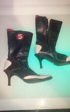Funky Henry Ferrera Soldier women's boots size 6.5 (37) good cond SHIPS FROM USA