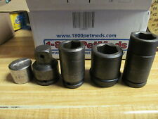 5 Fabulous Mac & Matco Assorted Sockets & Other Tools - Must See These!!!!!