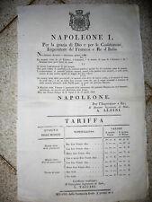 U694-NAPOLEONE-SULLE MONETE EROSE 1806
