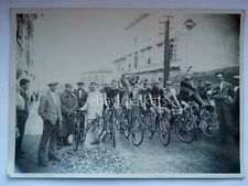 Vecchia foto TRIESTE ciclismo bici 1 vintage cycling eroica photo