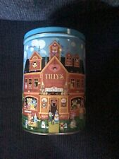 Roger Nannini Tillys Teddy Bear Emporium Tin Metal Canister With Lid Empty