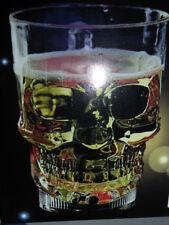 Horror Halloween Prop LED Glowing colors Skull Novelty Cola Vodka Mug Wine Beer