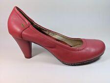 Terra Plana Pink Leather High Heel Shoes Uk 8 Eu 41 Worn Once