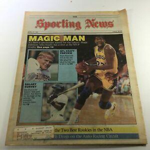 VTG The Sporting News April 27 1987 - NBA's Magic Johnson / NFL Brian Bosworth
