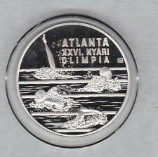 More details for 1994 bp hungary atlanta olympics swimming silver proof 1000 forint + capsule