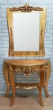 Console da parete antica Consolle Martina oro entratina soggiorno arredo casa