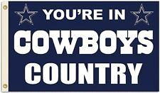 Dallas Cowboys Huge 3'x5' Nfl Licensed Country Flag / Banner - Free Shipping