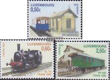 Luxemburg 1670-1672 (compleet.Kwestie.) gestempeld 2005 Railway