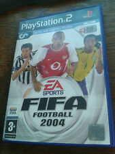 * Sony Playstation 2 Game *  FIFA FOOTBALL 2004 * PS2