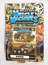 Military Muscle Machines 2003 Release #MMM03-10 DUKK 6x6 Green & Tan