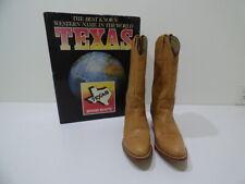 Frye Tan Leather Cowboy Boots #7972 Womens Size 10 B