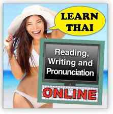 Learn Thai Reading, Writing and Pronunciation: Online course - 70% off RSP!