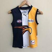 West Coast Eagles Official AFL Guernsey Jumper Youth Boys 8