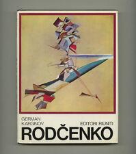 1977 G. Karginov ALEKSANDR RODCHENKO Avant Garde Soviet Constructivism 263-pg BK
