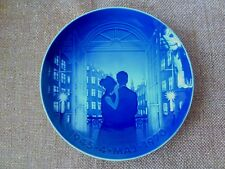 Bing & Grondahl porcelain plate,25th Ann end of Ww2,May 4th 1945-1970