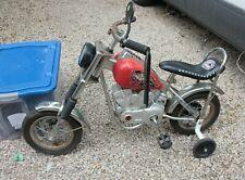 Vintage Huffy Porkchoppers Motorcycle Kids Bike Code Red Rare Chopper