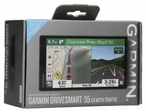 Garmin DriveSmart 55 5.5 inch GPS Navigator - Black‼️🌟✅‼️(NEW)