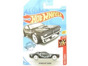 Hotwheels 68 Mercury Cougar HW Flames 164/250 Long Card 1 64 Scale Sealed New