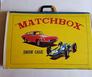 VINTAGE MATCHBOX SHOW CASE 48 CAR CARRYING CASE 1966