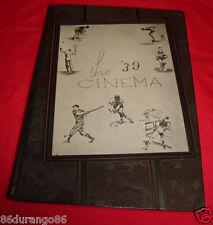 LAKEWOOD HIGH SCHOOL 1939 YEARBOOK LAKEWOOD OHIO THE CINEMA