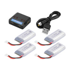 Charger + 4pcs 3.7V 850mAh Lipo Battery for Syma X5C X5C X5SC X5SW Drone BC687