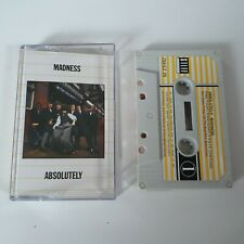MADNESS ABSOLUTELY CASSETTE TAPE 1980 PAPER LABEL STIFF UK