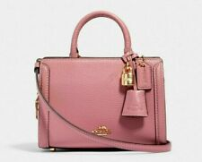 Coach 3015 Zoe Micro Crossbody Satchel Handbag, Mini - Im/Rose