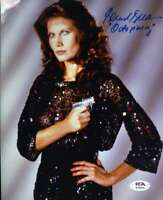 Maud Adams PSA DNA Coa Signed 8x10 James Bond Photo Autograph