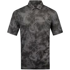 😎 NEW MENS PGA TOUR TRAVIS MATHEW QUIET SHADE GOLF POLO SHIRT LARGE L BLACK