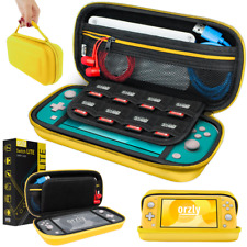 Nintendo Switch Lite Hard Case Protective Cover Carry Bag by Orzly - Yellow