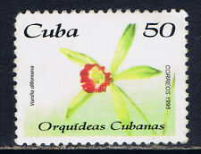 Caribbean Country #3684(2) 1995 50 cent ORCHIDS - VANILLA DILLONIANA MNH