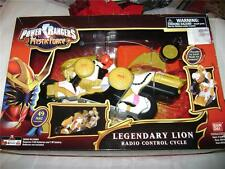 Disney Power Rangers Mystic Force Legendary Lion Radio Control Cycle New
