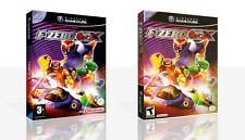 F-Zero GX reproducción Game Cube Estuche + Caja Cubierta de obras de arte sin juego