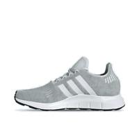 Women's adidas Swift Run Casual Shoes Dash Green/Cloud White/Grey Two EF5444 336