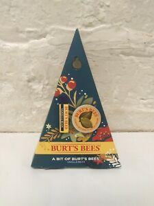 A Bit of BURT'S BEES Vanilla Bean Lip Balm and Lemon Butter Cuticle Cream NEW