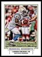 2010 TOPPS MAGIC MAGICAL MOMENTS LADAINIAN TOMLINSON SAN DIEGO CHARGERS #MM-9
