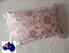 HIGH QUALITY 100% Mulberry Silk Pillowcase Thick 25 Momme Vintage Pink Rose